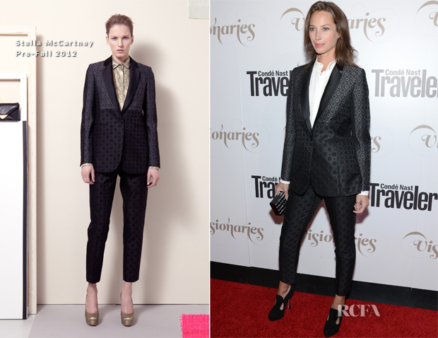 Christy Turlington In Stella McCartney - Conde Nast Traveler Celebrates 'The Visionaries'