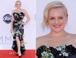 Elisabeth Moss In Dolce & Gabbana - 2012 Emmy Awards