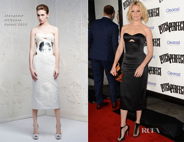 Elizabeth Banks In Alexander McQueen - 'Pitch Perfect' LA Premiere
