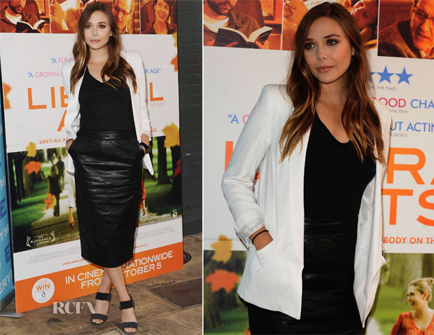 Elizabeth Olsen In Topshop & ASOS
