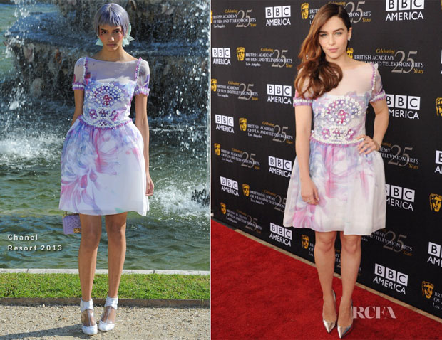 Emilia Clarke In Chanel - BAFTA Los Angeles TV Tea 2012