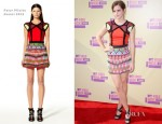 Emma Watson In Peter Pilotto – 2012 MTV Video Music Awards