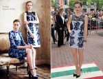 Emma Watson In Erdem - 'The Perk Of Being A Wallflower' Toronto Film Festival Premiere