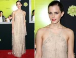 Emma Watson In Giorgio Armani - 'The Perks Of Being A Wallflower' LA Premiere