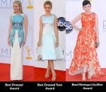 Fashion Critics' 2012 Emmys Round Up