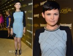 Ginnifer Goodwin In Jenny Packham - 2012 Entertainment Weekly Pre-Emmy Party