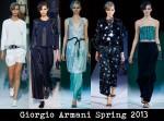 Giorgio Armani Spring 2013