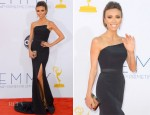 Giuliana Rancic In Romona Keveza - 2012 Emmy Awards