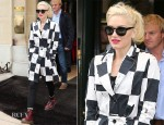 Gwen Stefani In Kelly Wearstler - Out In Paris