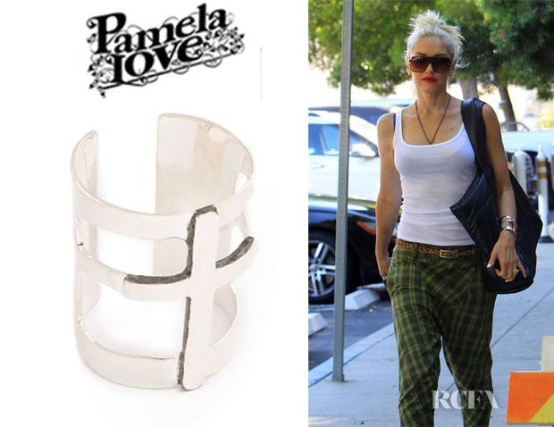 Gwen Stefani's Pamela Love Cross Cuff