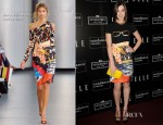 Hailee Steinfeld In Mary Katrantzou - ELLE & Sundance Channel's 'All On The Line With Joe Zee' Celebration