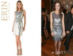 Hailee Steinfeld's Erin by Erin Fetherston Sequined Sheath Dress