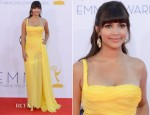 Hannah Simone In Emilio Pucci - 2012 Emmy Awards