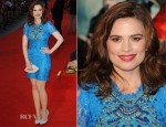 Hayley Atwell In Emilio Pucci - 'The Sweeney' London Premiere