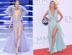 Heidi Klum In Alexandre Vauthier Couture - 2012 Emmy Awards