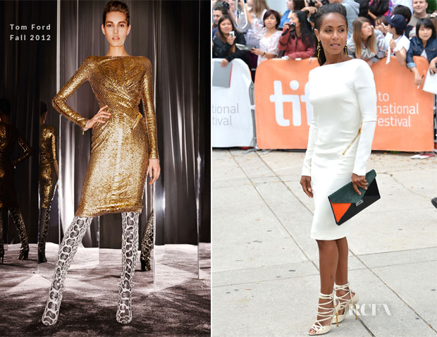 Jada Pinkett-Smith In Tom Ford - 'Free Angela & All Political Prisoners' Toronto Film Festival Premiere