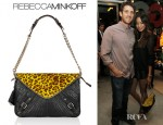 Jamie Chung's Rebecca Minkoff Maria Shoulder Bag