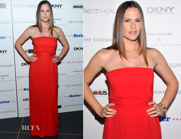 Jennifer Garner In Gucci - 'Butter' New York Premiere