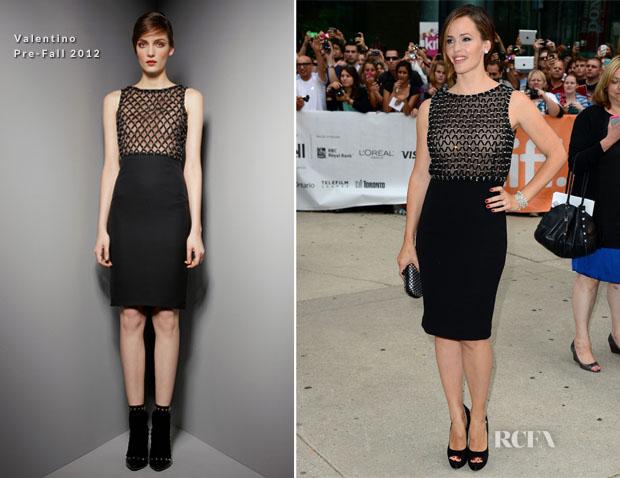 Jennifer Garner In Valentino - 'Argo' Toronto Film Festival Premiere