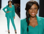 Jennifer Hudson In Michael Kors - Project Runway Fashion Show