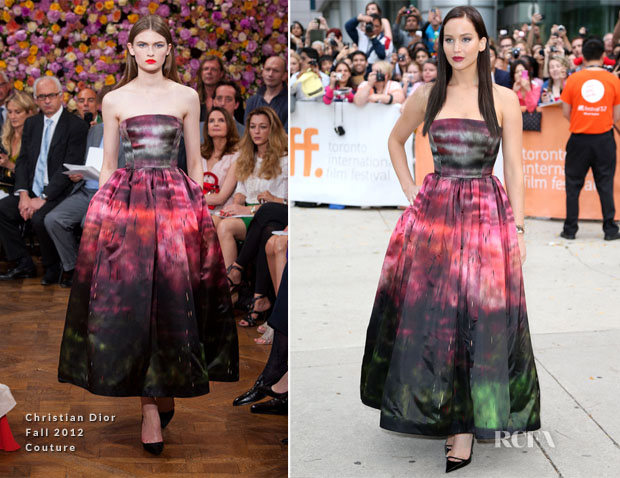 Jennifer Lawrence In Christian Dior - 'Silver Linings Playbook' Toronto Film Festival Premiere