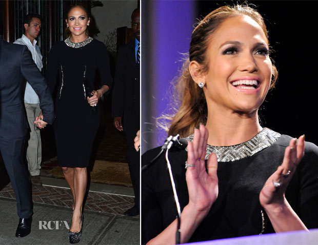 Jennifer Lopez In Paule Ka - 29th Annual Walter Kaitz Foundation Fundraising Dinner
