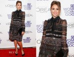 Jessica Alba In Valentino - SELF Magazine 5th Annual Women Doing Good Awards