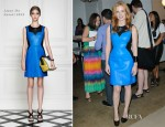 Jessica Chastain In Jason Wu - Fashion's Night Out At Jeffrey