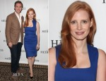 Jessica Chastain In Preen Line - 'The Heiress' Broadway Photocall