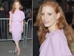 Jessica Chastain In Roksanda Ilincic - 'If There Is I Haven't Found It' Broadway Opening Night