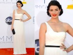 Jessica Pare In Jason Wu - 2012 Emmy Awards