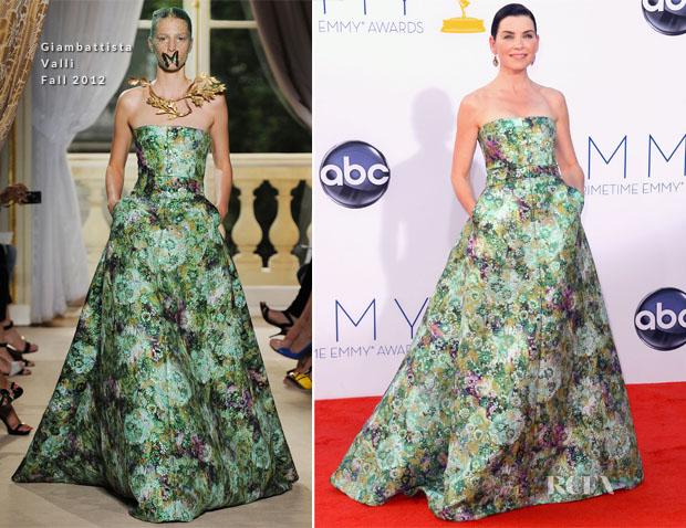 Julianna Margulies In Giambattista Valli Couture 2012