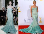 Julianne Hough In Georges Hobeika Couture - 2012 Emmy Awards