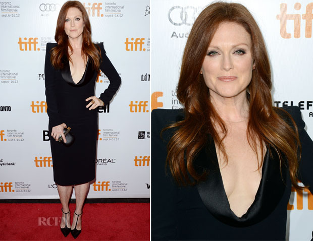 Julianne Moore In Alexander McQueen - 'What Maisie Knew' Toronto Film Festival Premiere