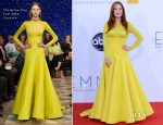Julianne Moore In Christian Dior Couture - 2012 Emmy Awards