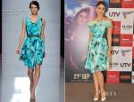 Kareena Kapoor In Emanuel Ungaro - 'Heroine' Photocall