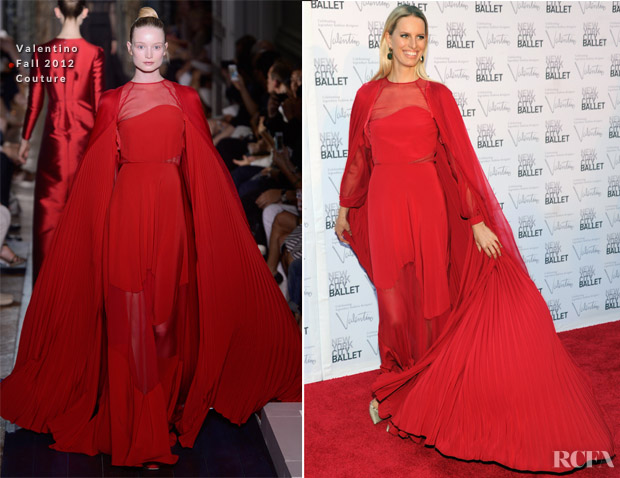Karolina Kurkova In Valentino Couture - 2012 New York City Ballet Fall Gala