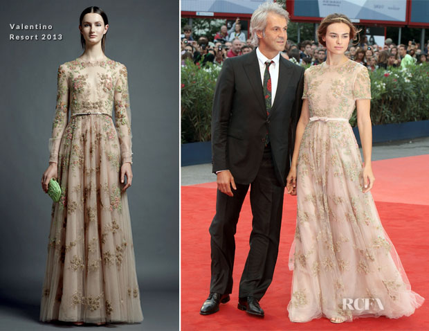 Kasia Smutniak In Valentino - 'The Master' Venice Film Festival Premiere