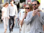 Kate Bosworth In Current/Elliott - Out In LA