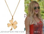 Kate Hudson's Jennifer Meyer Four Leaf Clover Necklace