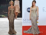 Kate Mara In Badgley Mischka - 2012 Emmy Awards
