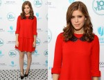 Kate Mara In Miu Miu - '10 Years' New York Brunch Reunion