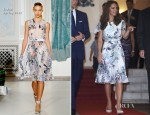 Catherine, Duchess of Cambridge In Erdem - British Gala Reception