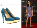 Katharine McPhee's Charlotte Olympia Dolly Platform Pumps