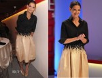 Katie Holmes In Carolina Herrera - 9th Annual Style Awards