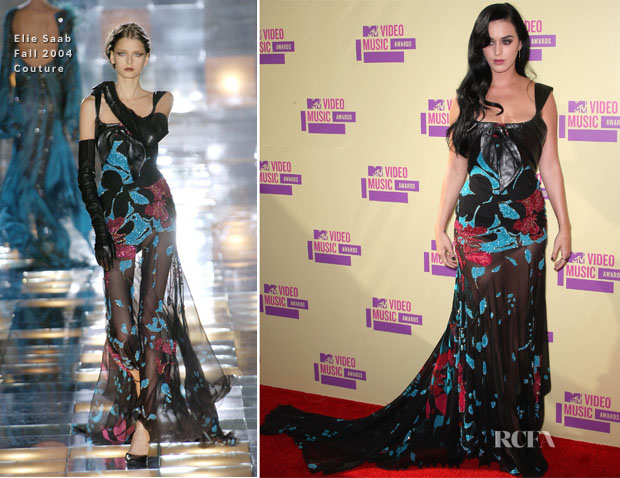 Katy Perry In Elie Saab Couture - 2012 MTV Video Music Awards