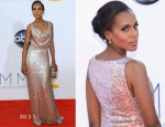 Kerry Washington In Vivienne Westwood - 2012 Emmy Awards