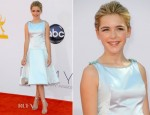 Kiernan Shipka In Zac Posen - 2012 Emmy Awards