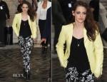 Kristen Stewart In Balenciaga - Balenciaga Spring 2013 Fashion Show