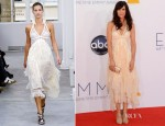 Kristen Wiig In Balenciaga - 2012 Emmy Awards